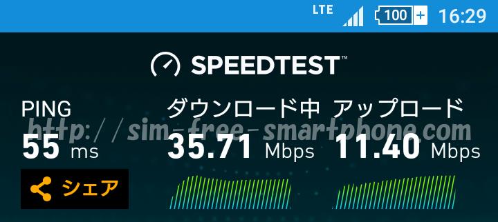 16~17時の通信速度