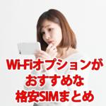 格安SIMは公衆Wi-Fiが使えない?Wi-Fiが使える格安SIMまとめ